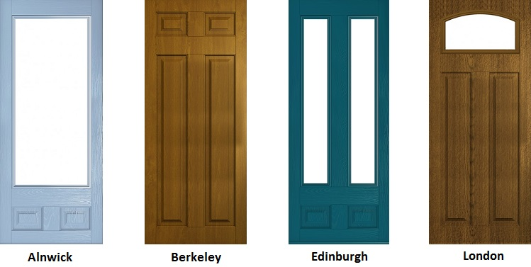 New composite doors added to Lockwood Windows range in Yorkshire