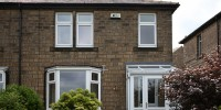 UPVC windows with dummy sashes, plus UPVC bay window.