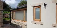 Irish Oak PVCu windows.