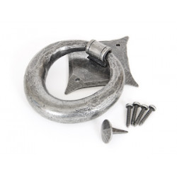 Ring Door Knocker - Pewter