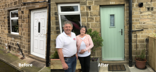 Lockwood Windows celebrate 21 years with their first customer