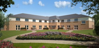 Lockwood Windows supplied both uPVC windows, French doors and composite doors for the new care home in Garforth.