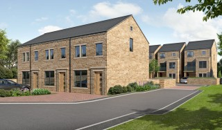 The new homes being built in Holmfirth will feature doors and windows from Lockwood Windows.