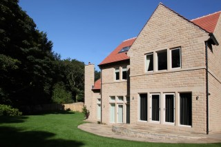 Award-winning Delamere Gardens in Huddersfield where Lockwood Windows supplied doors, windows and bi-fold doors.