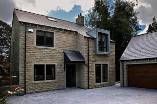 Forge View new build homes in Sheffield - windows and doors by Lockwood Windows.