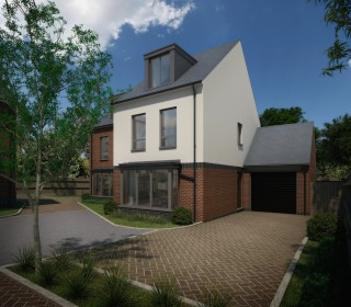 Mayfield Court new build homes in Dodworth, nr Barnsley - windows and doors by Lockwood Windows.