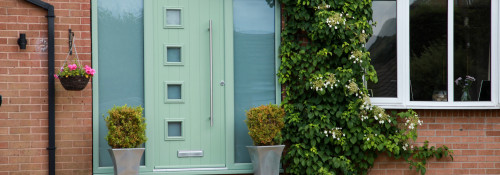 Enhance your home with colour See the composite door range