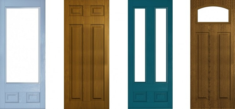 New composite doors added to Lockwood Windows range