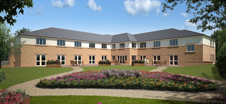 Lockwood Windows Supply Windows & Doors for New Care Home