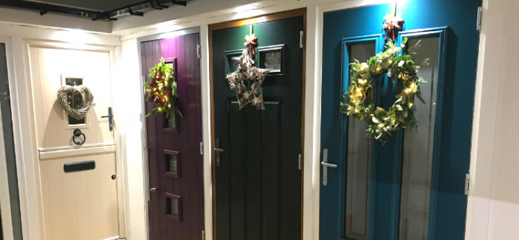 How to hang a wreath without damaging your composite door